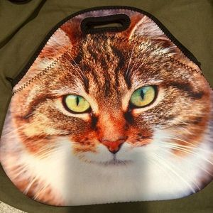 Handbags - Kitten Print Bag